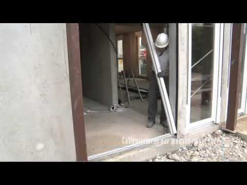 Pose fen tre tunnel youtube - Installation fenetre renovation ...