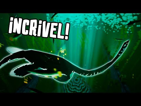 ENCONTRAMOS UM DINOSSAURO NAS PROFUNDEZAS DO MAR! - ABZU - mike -