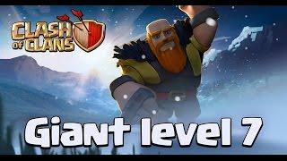 Clash Of Clans - Atualizações de Inverno - Gigante Level 7 + Nível de Tropa