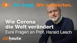 Corona-Sprechstunde mit Prof. Harald Lesch