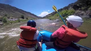 Rio Grande Adventure Pt1- Claire takes a dip