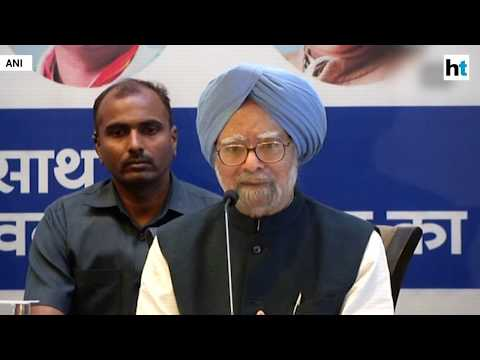 'Pipe dream', says Manmohan Singh on PM Modi's electoral promises
