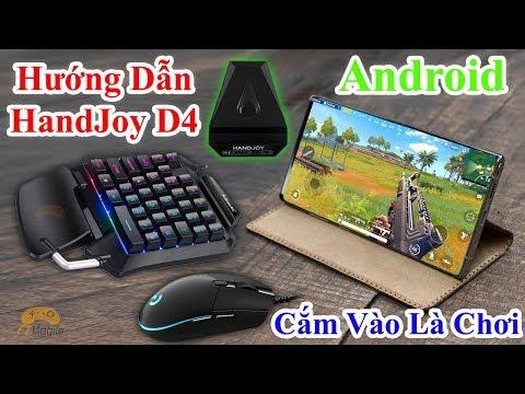 HandJoy D4 - Hướng Dẫn Chơi PUBG Mobile Bằng Bàn Phím Chuột Trên Android Bản Thử Nghiệm Khá Ngon