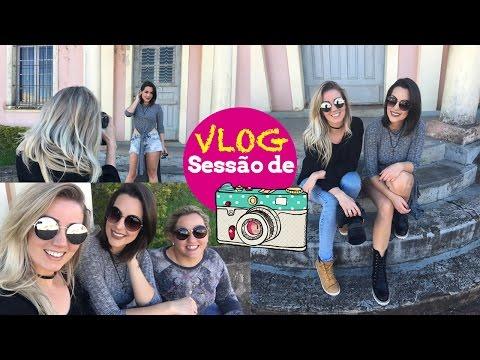 Vlog Sessão de fotos - Look do dia