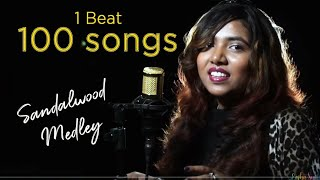 1 Beat 100 Songs | 40 years of Sandalwood | New to Old | Medley 2020 | Kannada Medley | Charlie Puth