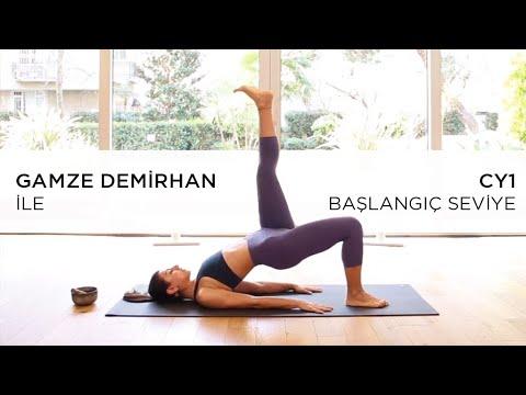 CY1 - Başlangıç Seviye ~ Cihangir Yoga - Gamze Demirhan