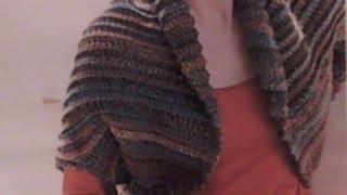 How to crochet a shrug / Easiest Crochet Shrug (también en Español) - Yolanda Soto Lopez