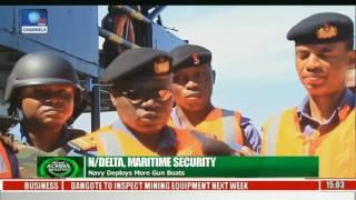 N/Delta Maritime Security: Navy Deploys More Gun Boats