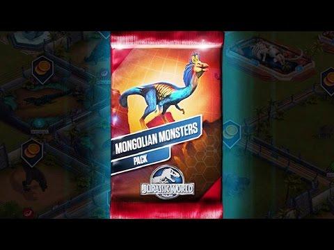 Mongolian Monsters Pack | Jurassic World - The Game |