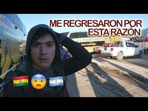 Así Es CRUZAR La FRONTERA De BOLIVIA A ARGENTINA | ¡Me Devolvieron! 🇧🇴