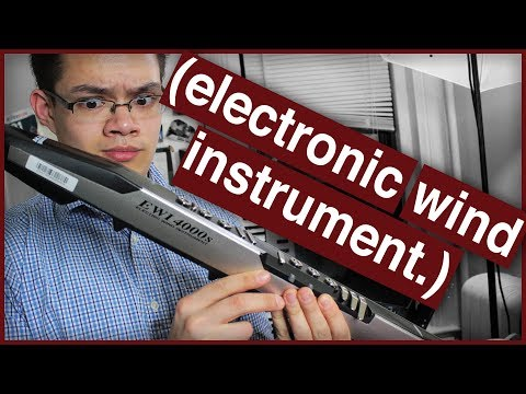 Here's Everything You Ever Wanted to Know About the EWI (Electronic Wind Instrument).