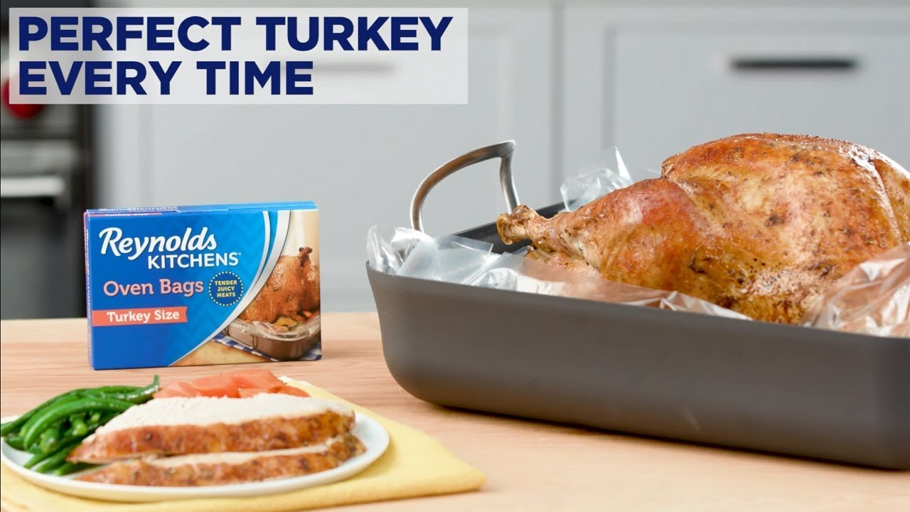 Perfect Turkey Every Time with Reynolds Kitchens® Turkey Oven Bags
