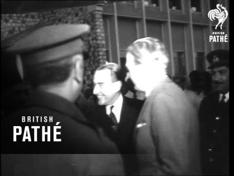 Eden Meets Nasser In Cairo (1955)