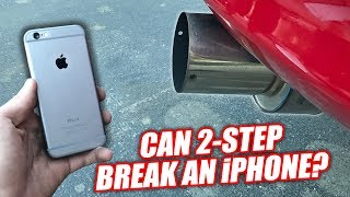 Download iPHONE vs. 1200hp SUPRA! (BENT & SHATTERED!) Mp3 and Videos