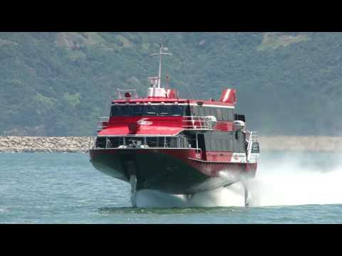Power catamaran concept ecat hybrid by juri karinen funnydog tv