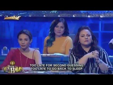 Tawag ng Tanghalan  Mary Gidget Dela Llana vs  Tsaddi Ruaza