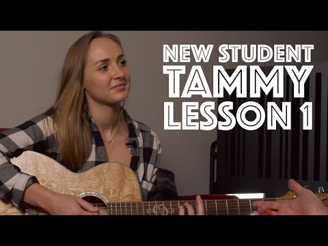 Meet Tammy! Private Lesson 1 (for Acoustic Singer Songwriters) Guitar Lesson Tutorial