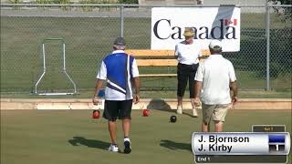 2017 Outdoor Singles Men's Finals: Bjornson (MB) vs Kirby (MB)