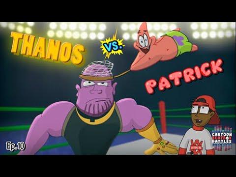 Thanos Vs Patrick - Cartoon Beatbox Battles