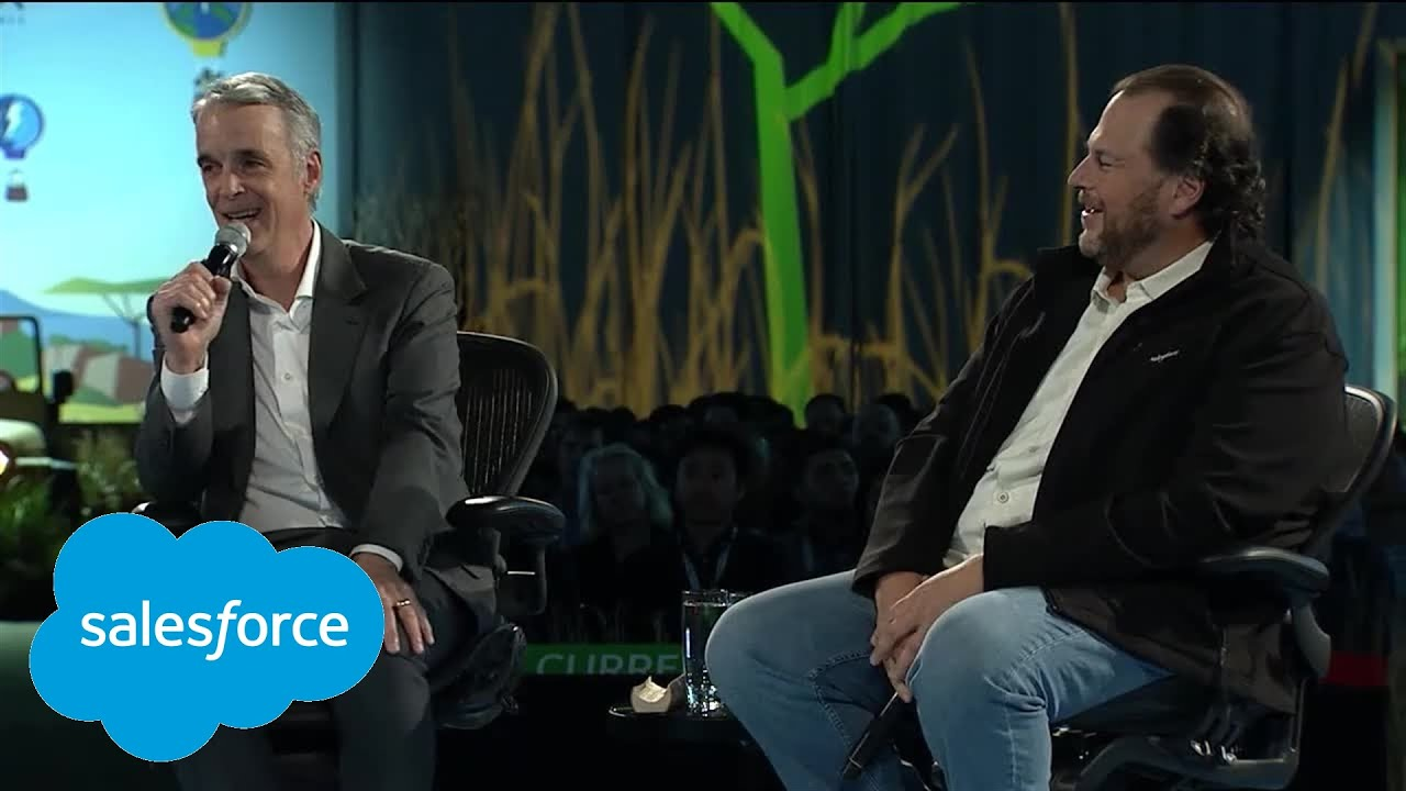 Fireside Chat with Marc Benioff and Parker Harris - YouTube