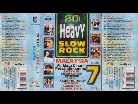 20 Heavy Slow Rock Malaysia Part.7 Full Album