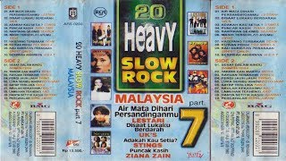 Gambar cover 20 Heavy Slow Rock Malaysia Part.7 Full Album