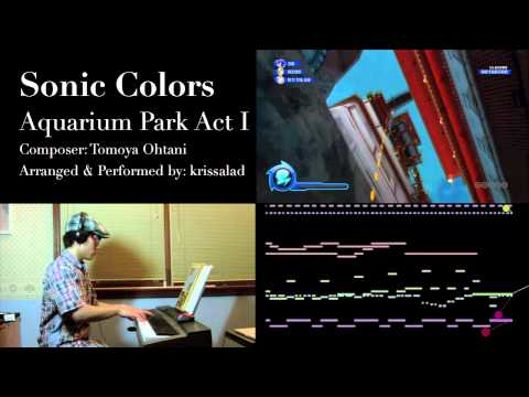 Sonic Colors - Aquarium Park Act I - Played By Krissalad