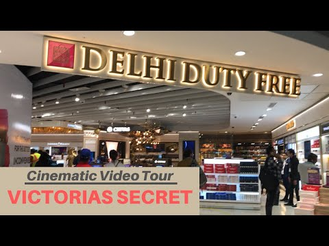 Delhi Duty Free T3 - Liquor & Perfume Prices (with comparison) | VICTORIAS SECRET Store Tour 👠