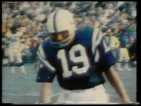 NFL - Highlights - Super Bowl III - N Y Jets VS Baltimore Colts Part 2 imasportsphile.com