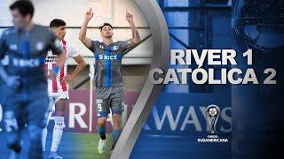 River Plate (Uru) vs. U. Católica [1-2] | RESUMEN | Octavos de Final | CONMEBOL Sudamericana