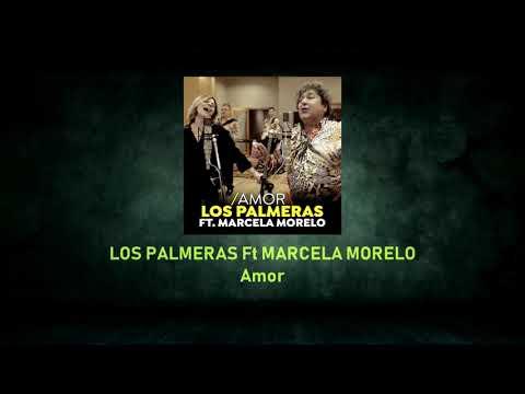 LOS PALMERAS Ft MARCELA MORELO - Amor - Pista Musical Karaoke