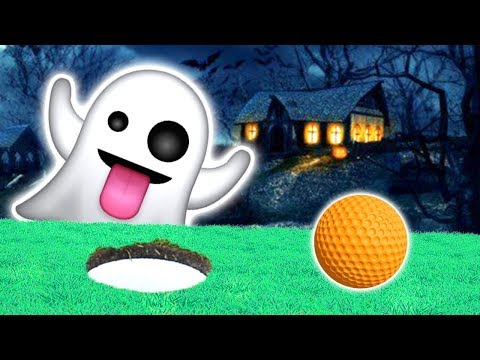 THE SPOOKIEST GOLF EVER!