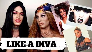 Jessie J, Beyonce e muitas DIVAS no Maquia ou Canta  - Armário de Saia