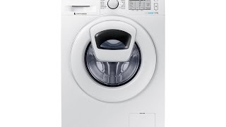 Washer Samsung Bubble shots Add Wash WW90K5213WWFH Review