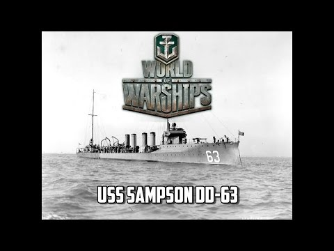 World of Warships - USS Sampson D-63