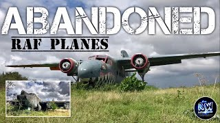 ABANDONED RAF Planes at Old World War 2 Airfield
