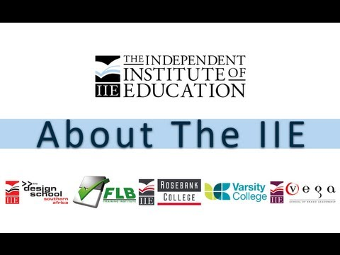 About The Independent Institute of Education