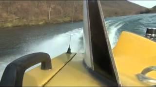赤城山 大沼 モーターボート