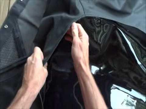 movie of rampage jeep top zipper issue.wmv