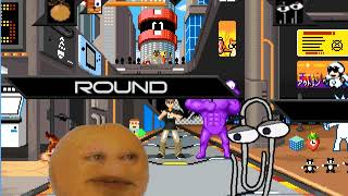 Mugeen Battle Bubsy and annoying orange vs clippy