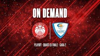 Playoff 2018 - Quarti - Milano - Cantù Gara 2 thumbnail