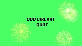 How to Draw Odd girl for Art Quilt