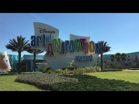 Disney's Art of Animation Resort | Complete Tour in 4K UHD | 2016-2017