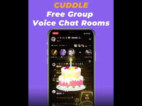 Cuddle - Free Group Chat Rooms.