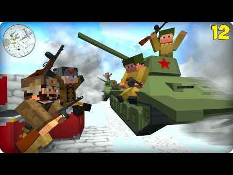 Вторая Мировая Война [ЧАСТЬ 12] Call of duty в Майнкрафт! - (Minecraft - Сериал) thumbnail