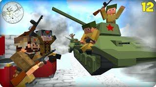 Вторая Мировая Война [ЧАСТЬ 12] Call of duty в Майнкрафт! - (Minecraft - Сериал)