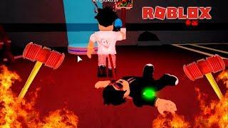 Roblox - TENHA CUIDADO PARA NÃO LEVAR UMA MARRETADA! - Flee the Facility
