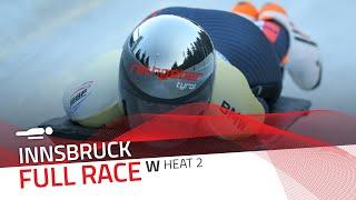 Innsbruck | BMW IBSF World Cup 2020/2021 - Women's Skeleton Heat 2 | IBSF Official