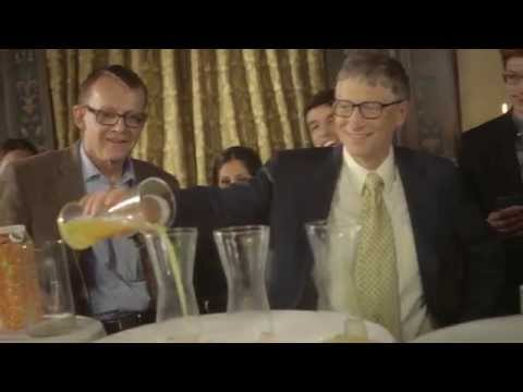 Hans Rosling's Demographic Party Trick #1, with Bill Gates