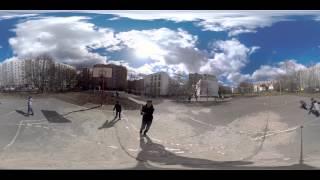 Баскетбол. Видео 360 градусов(Баскетбольная площадка возле школы. Видео игры в 360 градусов http://youtu.be/2nDoR438moA., 2015-05-11T13:50:15.000Z)